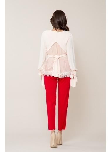 GIZIA Pantolon Kırmızı